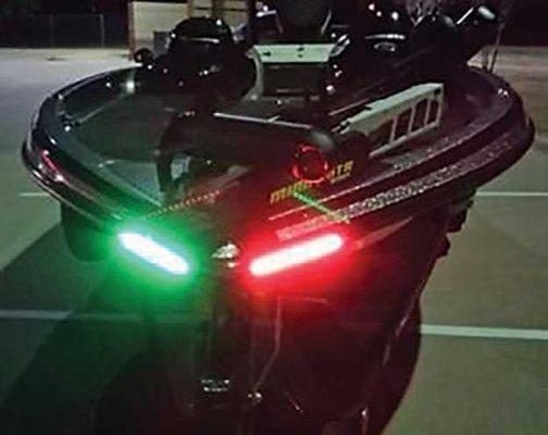 no led lights for your bass boat | bass angler magazine, Reel Combo