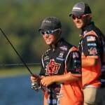 Zack Birge and Blake Flurry Zack Birge winn the college bass fishing event