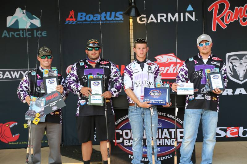 Tarleton State Takes Second Place and Big Bass