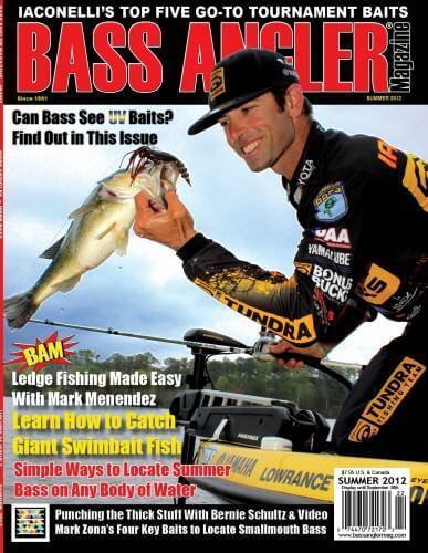 Bass Angler Magazine Summer 2012 Issue