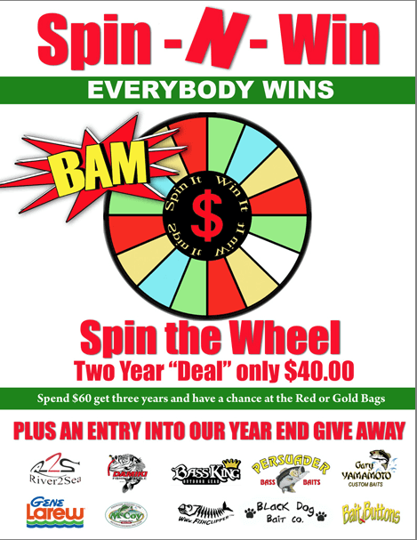 BAM Spin and Win