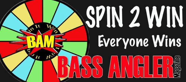 Bass Angler Magazine Spin to Win at the Sacramento ISE show