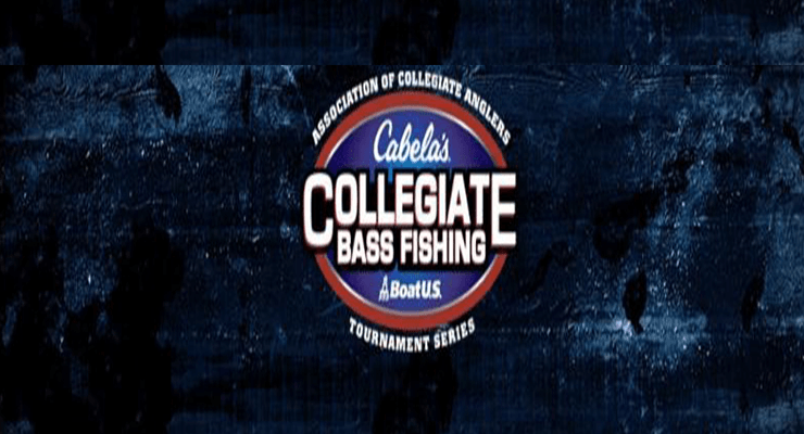 The top 5 in the cabela 39 s collegiate big bass bash bass for Cabelas college fishing