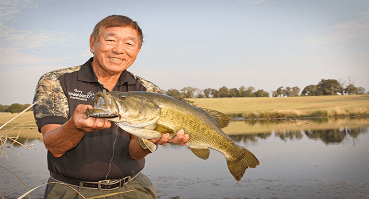 Gary yamamoto induction to bass fishing hall of fame for Bass fishing magazine