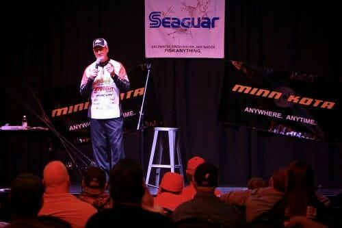 Guy Eaker Fishing Pro Speaking at the Gardner Webb University
