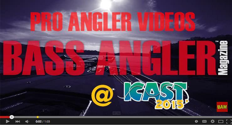 ICAST 2015 PRO ANGLER VIDEOS Part I of 6