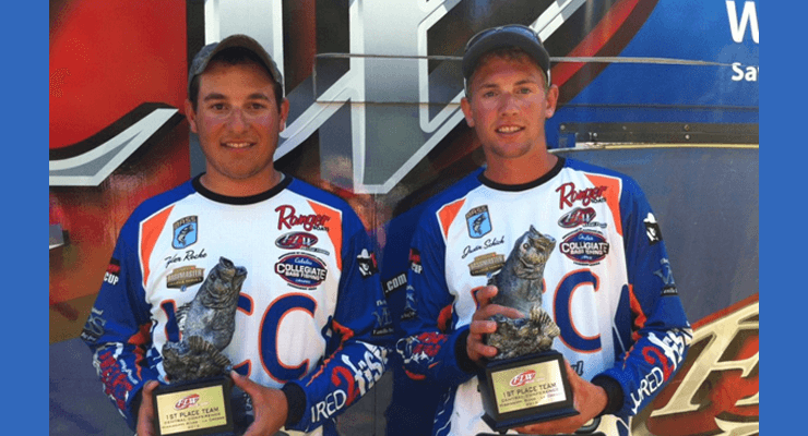 ILLINOIS WINS FLW COLLEGE FISHING CENTRAL CONFERENCE