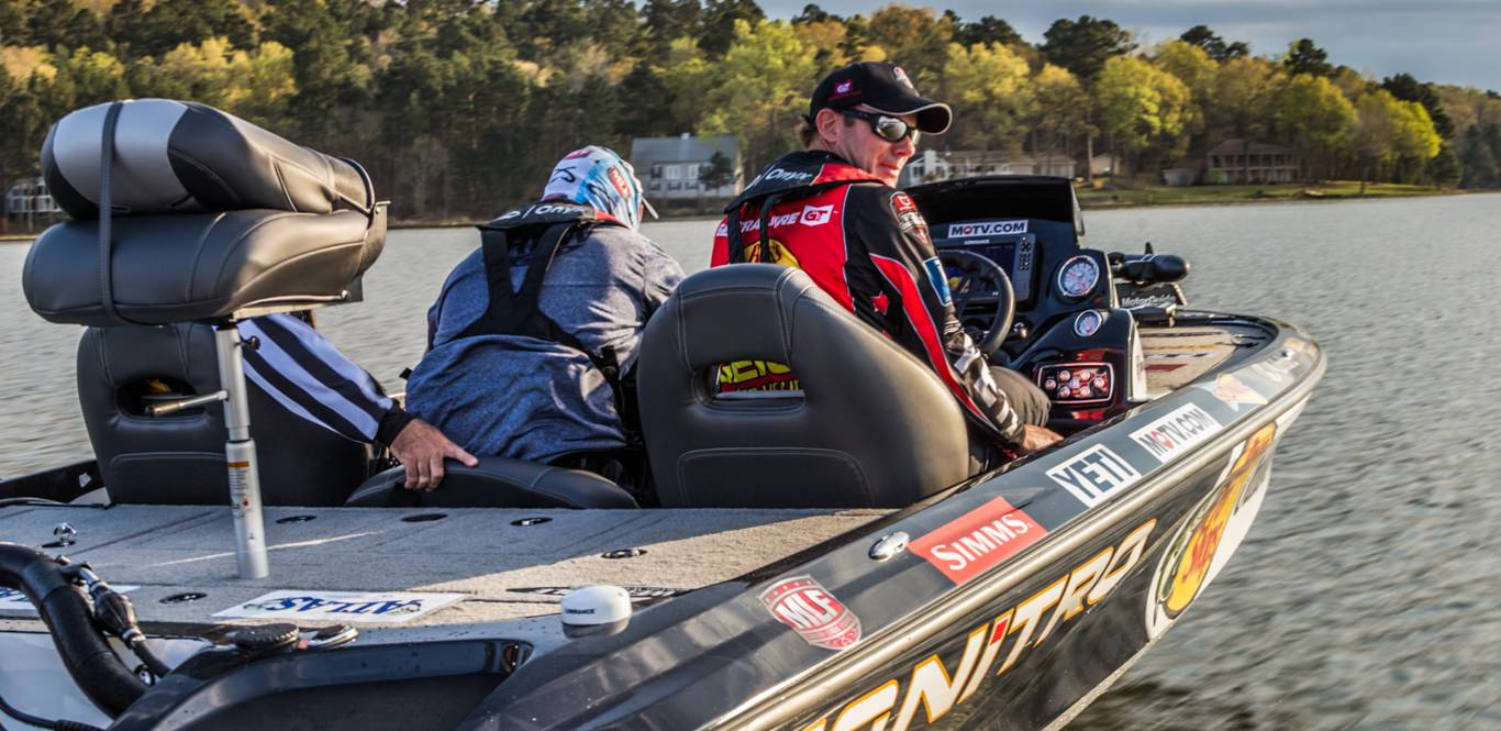 Top twelve compete in mfl championship bass angler magazine for Major league fishing world championship