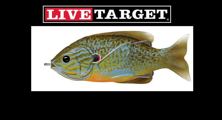 New lures from livetarget bass angler magazine for Live target fishing lures