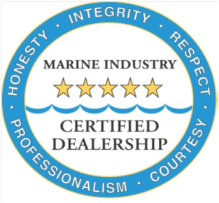 Marine Inductry Certified Dealership Logo
