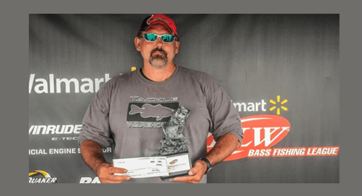 The winner of the Walmart Bass Fishing League SC Division goes to Webster