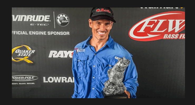 The Winner of the Walmart Bass Fishing League Gator Division goes to Ragan