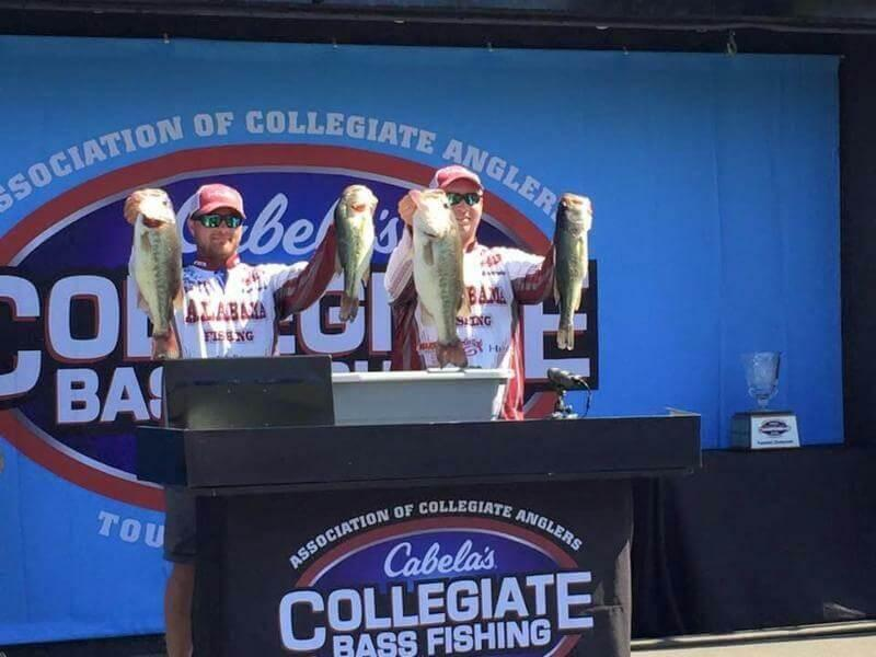 A look inside the 2016 cabela 39 s school of the year bass for College bass fishing