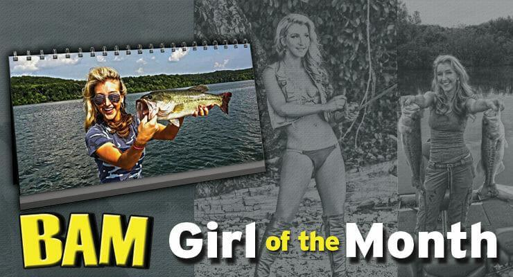 bass angler magazine girl of the month