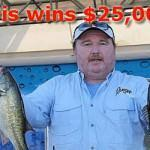 Texas TBF member Clint Farris wins $25,000 at FLW Tour Open on Rayburn