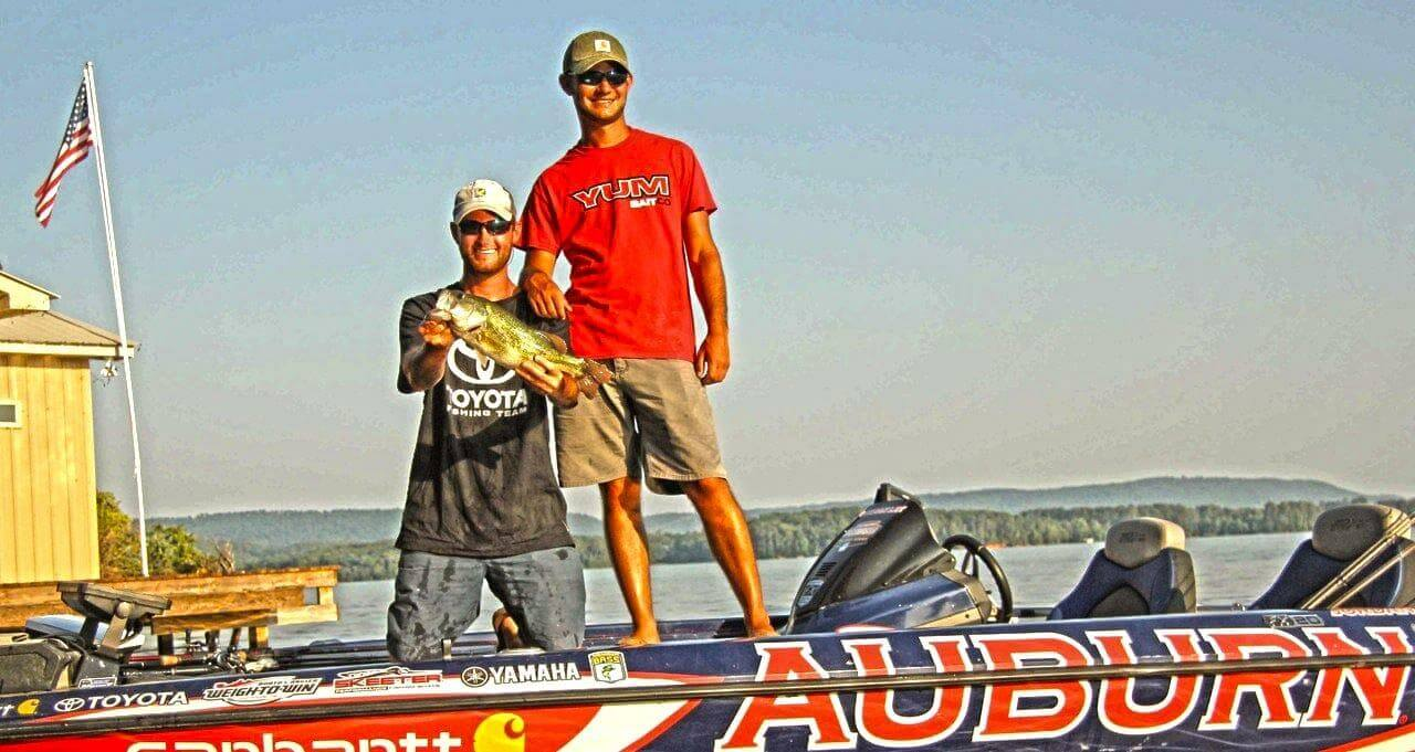 How to start and fund a college bass team bass angler for College bass fishing