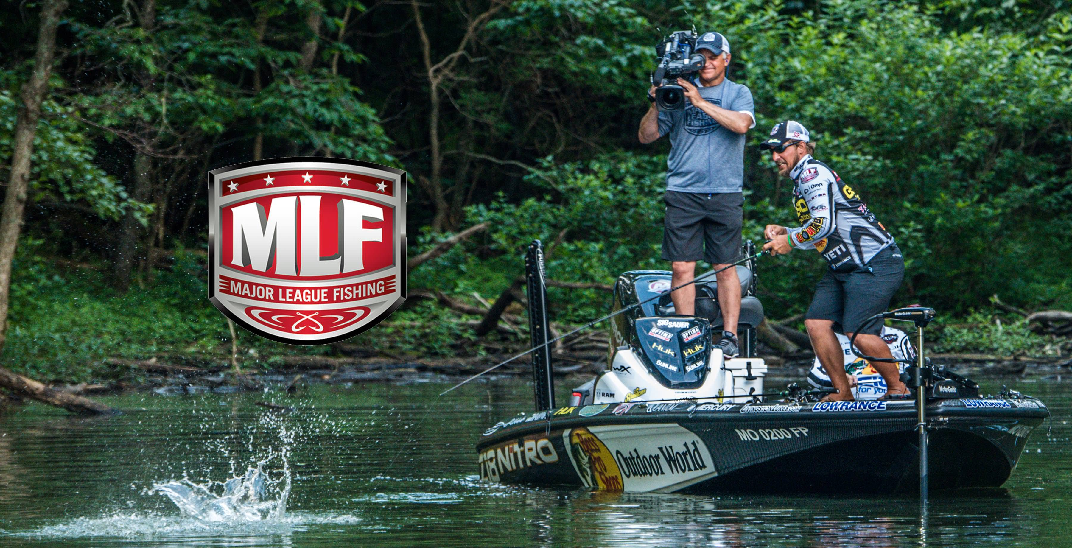 major league fishing back on the air bass angler magazine