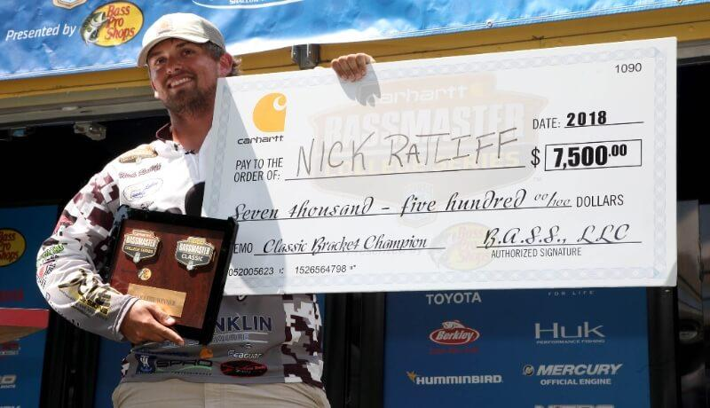 College Angler Qualifies for 2019 Bassmaster Classic | Bass
